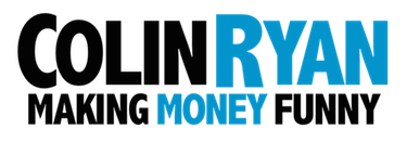 Comedic Financial Speaker Colin Ryan Logo